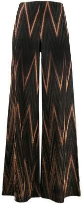 M Missoni flared trousers