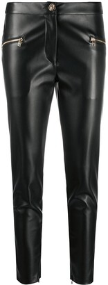 Liu Jo Faux Leather Skinny-Fit Trousers