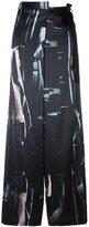 Ann Demeulemeester palazzo trousers - women - Silk/Nylon/Spandex/Elastane/Rayon - 36