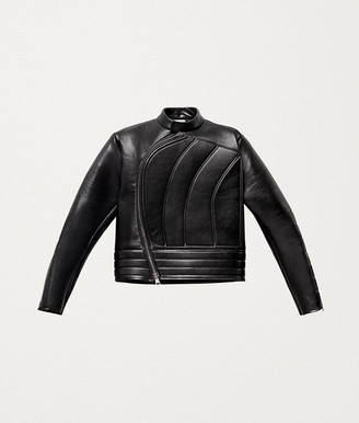 Bottega Veneta BIKER JACKET IN POLISHED CALF