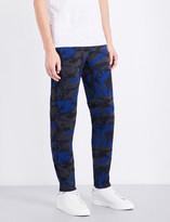 Sandro Future camouflage-print jogging bottoms
