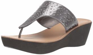 Kenneth Cole Reaction Women's Fine Glitz T-Strap Platform Sandal Wedge