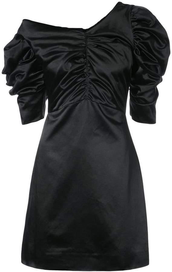 Isa Arfen off-shoulder gathered dress