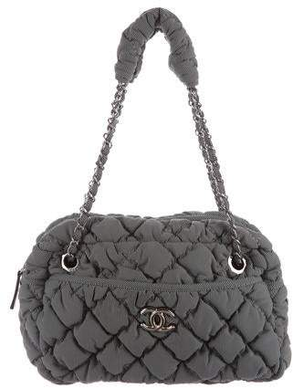 Chanel Bubble Quilt Camera Bag