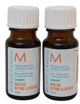 Moroccanoil Treatment Light For Fine And Light Colored Hair Set Of 2 10 Ml.