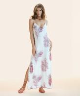 Vix Paula Hermanny Krishna White Milos Long Dress