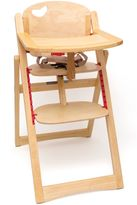 Lipper Beechwood Folding High Chair
