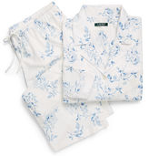 Ralph Lauren Woman Floral Cotton Capri Pajama Set