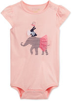 First Impressions Elephant Cotton Bodysuit, Baby Girls (0-24 months), Only at Macy's