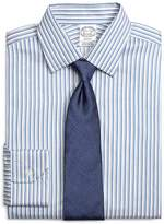 Brooks Brothers Regent Fit Heathered Twin Stripe Dress Shirt