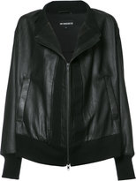 Ann Demeulemeester Perry jacket - women - Cotton/Leather/Rayon - 38