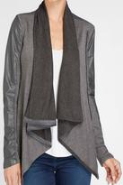 Blank NYC BlankNYC Draped Leather Jacket