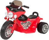 Red Mini Trike Police Chopper Electric Ride-On