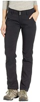 Prana Halle Straight Pants (Black) Women's Casual Pants