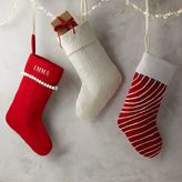 west elm Felt Stocking