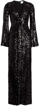Galvan Moonlight Sequin Gown
