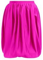 Calvin Klein - Bubble Silk-faille Skirt - Womens - Pink