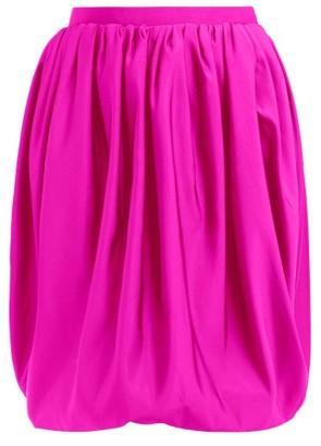 Calvin Klein Bubble Silk-faille Skirt - Pink
