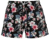 Fabric Mens Floral Swim Shorts Woven Pants Trousers Bottoms Mesh Pattern