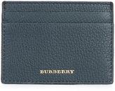 Burberry cardholder pocket - men - Cotton/Calf Leather/Viscose - One Size