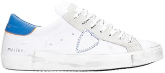 Philippe Model Prsx L Sneakers In White Leather