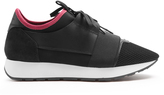 Balenciaga Race Runners panelled low-top trainers