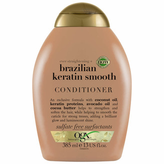 OGX Ever Straightening+ Brazilian Keratin Smooth Conditioner 385ml