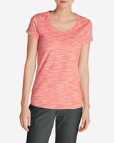 Eddie Bauer Women's Lookout T-Shirt - Space Dye