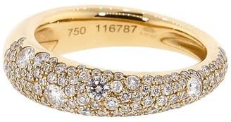 Kwiat 18kt rose gold Cobblestone diamond ring
