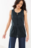 J. Jill Pintucked Sleeveless Top