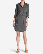 Eddie Bauer Women's Departure Long-Sleeve Shirt Dress