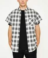 Zanerobe Rugger Cut Sleeve Shirt White Black