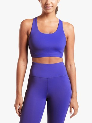 Athleta Ultimate Supersonic A-C Cup Sports Bra, Blue