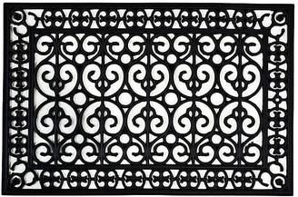 One Kings Lane 2'x3' Posto Doormat - Black