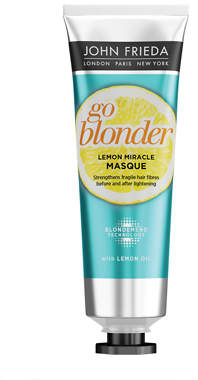 John Frieda Sheer Blonde Go Blonder Lemon Miracle Masque 105ml
