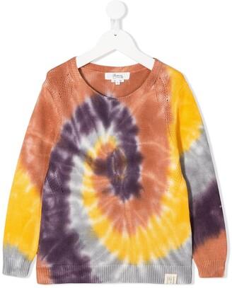 Bonpoint Tie-Dye Print Sweatshirt