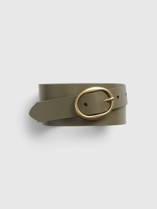 Gap Oval Buckle Belt