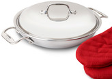 All-Clad Tri-Ply Stainless Steel Everyday Pan with Domed Lid, 2 quart