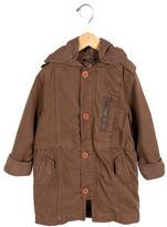Little Marc Jacobs Girls' Hooded Coat
