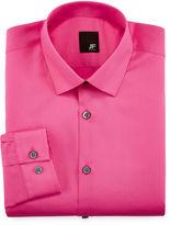 Jf J.Ferrar JF Slim-Fit Easy-Care Dress Shirt - Big & Tall