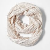 Vera Wang Simply vera popcorn space-dyed infinity scarf