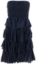 ISABEL MARANT - Ruffe layer strapless dress