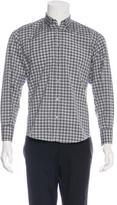 Dolce & Gabbana Plaid Woven Shirt