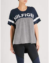 Tommy Hilfiger Logo-print jersey T-shirt