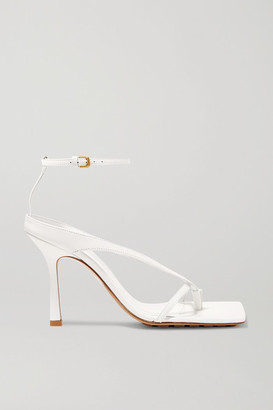Bottega Veneta Leather Sandals - White