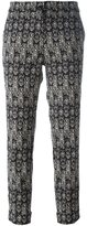 Etro printed cropped trousers - women - Cotton/Polyamide/Spandex/Elastane - 46