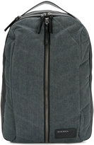 Diesel denim zip backpack
