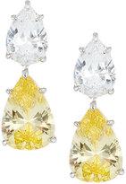 FANTASIA CZ Double Drop Earrings