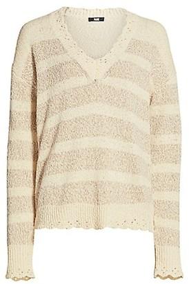 Paige Caspian Striped Sweater
