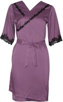 Burvogue Women's Sexy Soft Robe and Nightgown Set Pajama Dress